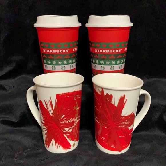 Starbucks Holiday Mug Set